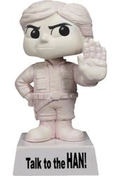 Star Wars - Han Solo: Wisecracks Wacky Wobbler