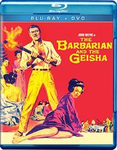 The Barbarian and the Geisha (Blu-ray + DVD)