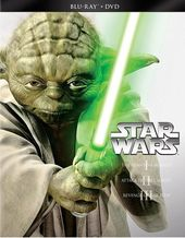 Star Wars Trilogy: Episodes 1-3 (Blu-ray + DVD)