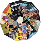 The Beatles - 11-Piece Post Cart Set
