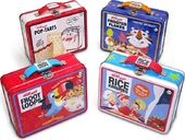 Retro - Kellogg's Cereal 4 Piece Tin Lunch Box Set