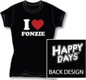 Happy Days - I Love Fonzie - T-Shirt