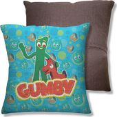 Gumby - Best Friends - Throw Pillow