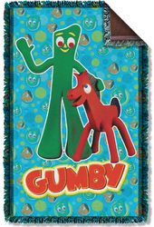 Gumby - Best Friends - Woven Throw