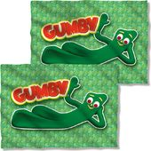 Gumby - Chilling (Front & Back) - Pillow Case