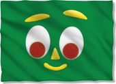 Gumby - Big Face - Pillow Case