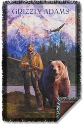 Grizzly Adams - Wilderness - Woven Throw