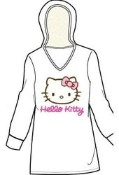 Hello Kitty - Long Sleeve Hoodie - T-Shirt