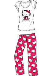 Hello Kitty - White & Red Logo - Pajama Set
