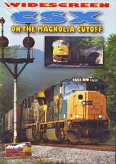 Trains - CSX on the Magnolia Cutoff (Widescreen)