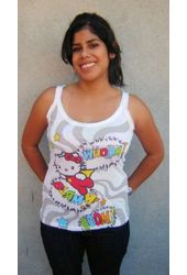 Hello Kitty - Raw Cut Look Blam - Tank Top
