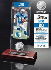 Football - Detroit Lions: Barry Sanders Ticket &