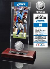 Football - Detroit Lions: Calvin Johnson Ticket &