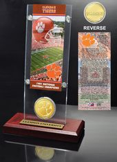 Clemson University National Champions Ticket &