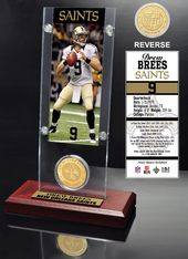 Football - New Orleans Saints: Drew Brees Ticket
