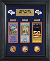 Football - Denver Broncos 3-Time Super Bowl