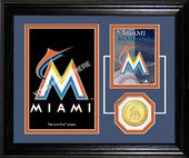 Baseball - Miami Marlins Fan Memories Photo Mint