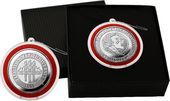Florida State University Silver Coin Ornament