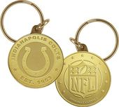 Football - Indianapolis Colts Keychain