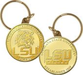 Louisiana State University Bronze Coin Keychain