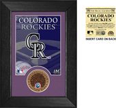 Baseball - Colorado Rockies Infield Dirt Coin
