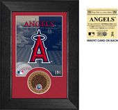 Baseball - Los Angeles Angels Infield Dirt Coin