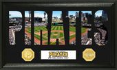 "Baseball - Pittsburgh Pirates ""Word Art"" Bronze"