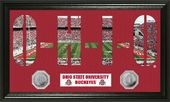 "Ohio State University ""Word Art"" Panoramic Minted"