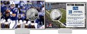 "Football - Peyton Manning ""Colts Career"" Silver"