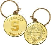 Syracuse University Bronze Coin Keychain