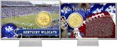 University of Kentucky Bronze Coin Card