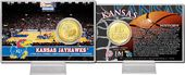 "University of Kansas ""Basketball"" Bronze Coin Card"