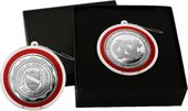 University of North Carolina Silver Coin Ornament