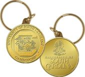 University of South Carolina Bronze Coin Keychain