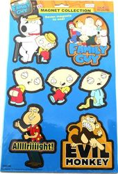 Family Guy - 7 Piece Set Including 3 Stewies -