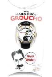 Groucho Marx - White - Metal Watch