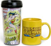 DC Comics - Wonder Woman - 2-Piece Set: 15 oz.