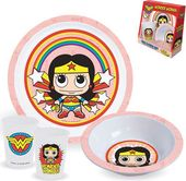 DC Comics - Wonder Woman - 3-Piece Kid's Dining