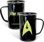 Star Trek - 20 oz. Enamel Mug