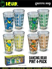 Grateful Dead - Dancing Bears - 4-Piece