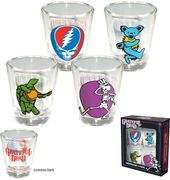 Grateful Dead - Graphic - 4-Piece Shot Glass Set