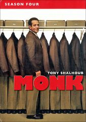 Monk - Season 4 (4-DVD)