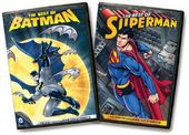 The Best of Batman / The Best of Superman (4-DVD)