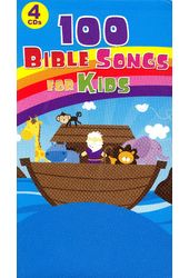 100 Bible Songs for Kids (4-CD)