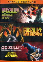 Godzilla Triple Feature (Godzilla and Mothra: The