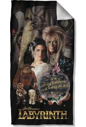 Labyrinth - Only Forever Beach Towel