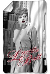 Lucille Ball - City Girl Fleece Blanket