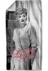 Lucille Ball - City Girl Beach Towel