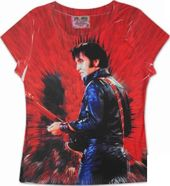 Elvis Presley - Guitar (Boogie on Brown) - T-Shirt
