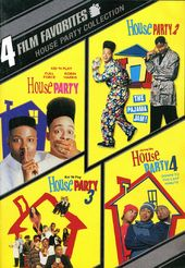 House Party Collection: 4 Film Favorites (2-DVD)